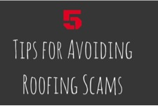5 Tips for avoiding roofing scams