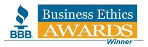 Better Business Bureau: Business Ethics Awards Winner